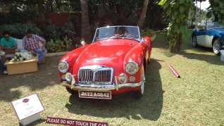 MG 1959 owned by Mr. Kanoria